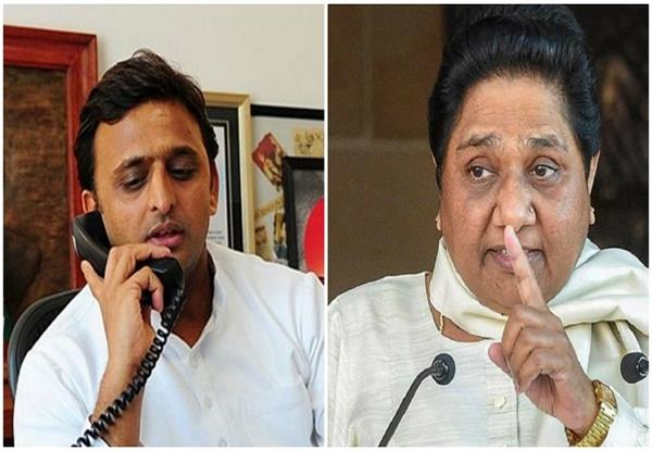 mayawati says on the phone  akhilesh does not need to be afraid of cbi
