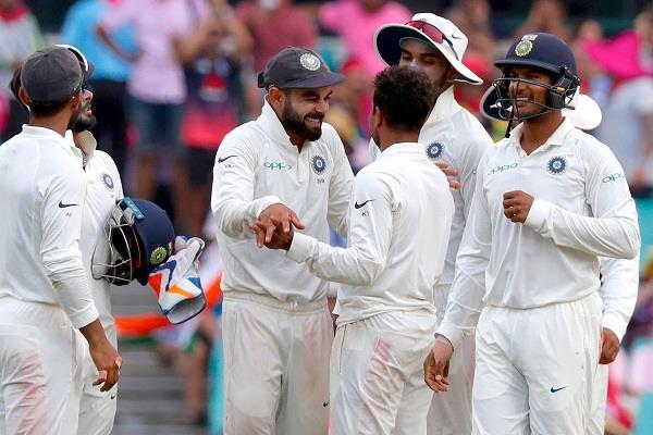 Indian Cricket Team INDvsAUS