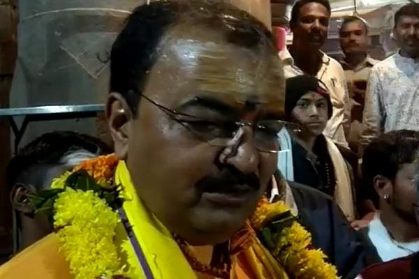 when lord wants to build ram temple then keshav prasad maurya