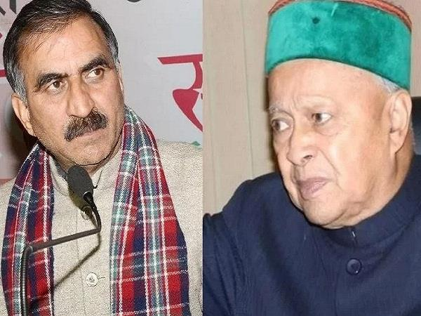 virbhadra surrounded by commenting on sukhu