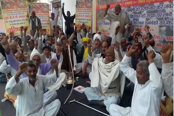 opponents opened by villagers against cabinet minister op dhankhad and sarpanch