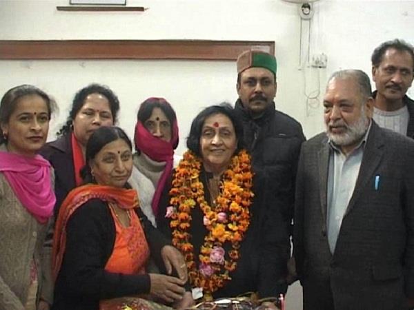 nahan nagar parishad 18th president of rekha tomar