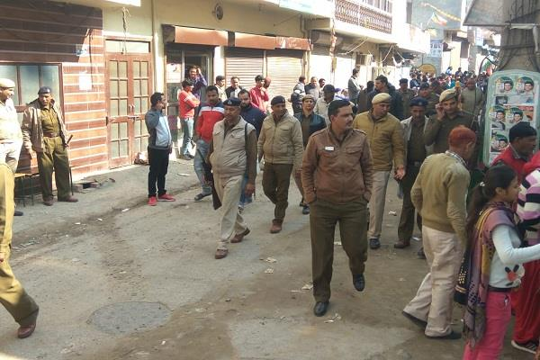 election dispute in jind booth number 143