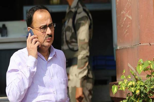 alok verma refuses to take charge of fire brigade resigns