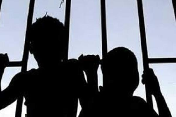 kidnapping of 2 minor children in the district police