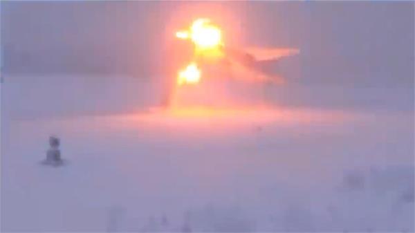 russian tu 22m3 bomber s terrifying crash landing in zero visibility