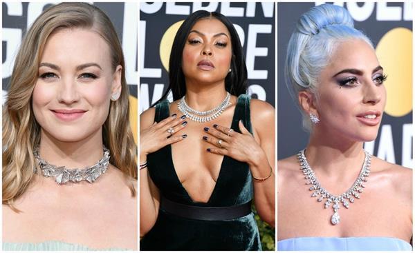 Golden Globe 2019: आउटफिट नहीं रैड कार्पेट पर दिखा ज्यूलरी का क्रेज (See Pics)