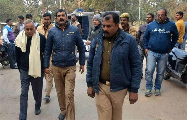 up accused mp arrested in madhya pradesh