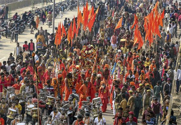kumbh mela is a symbol of faith and trust of hindu pilgrims