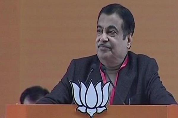 gadkari says modi government showed what he said