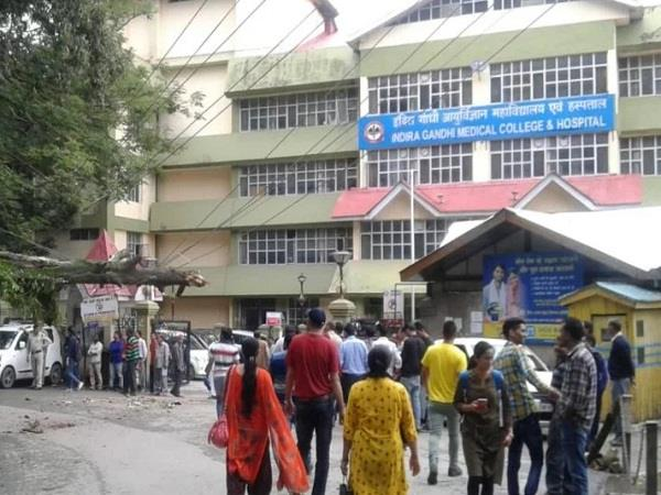 himachal largest hospital running with 10 hdu