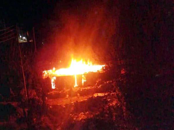 fierce fire in house loss of millions