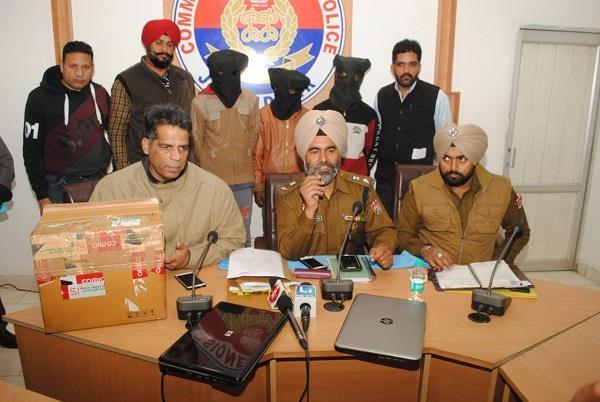 4 persons arrested in jalandhar