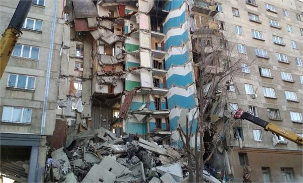saudi arabi russia apartment building collapse