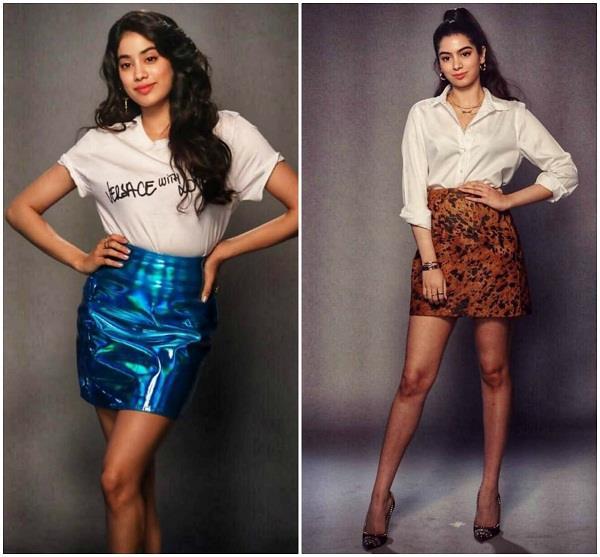 कपूर सिस्टर्स Janhvi-Khushi का फैशन, हर ड्रेस में दिखतीं हैं परफेक्ट