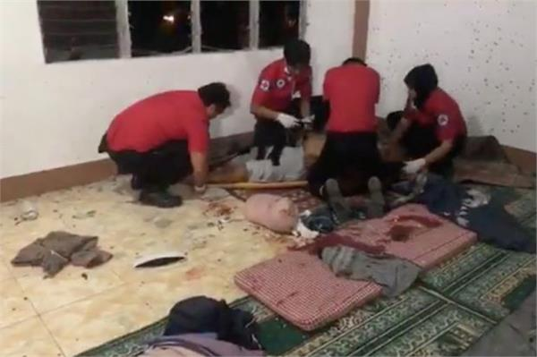 2 killed in grenade attack on mosque in southern philippines