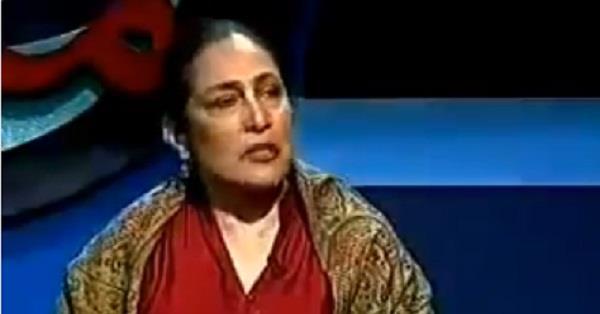 pak woman exposed pakistan on tv kumar vishwas shared video