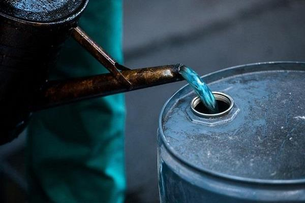 police seized kerosene stolen 2400 liters of big success