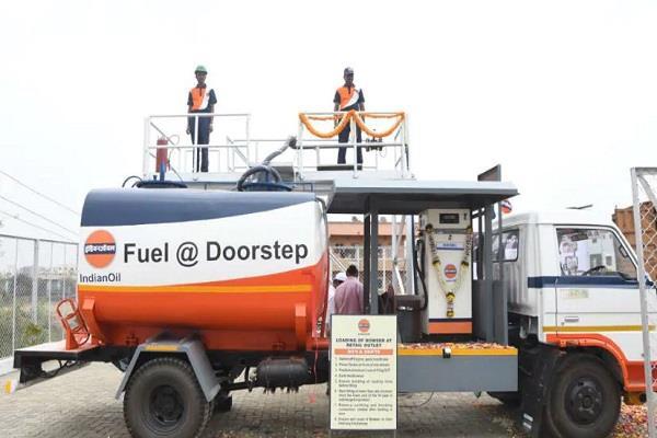 petrol diesel will now be home delivery of petrol diesel