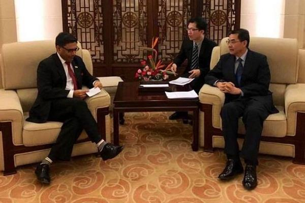 vikram mishra takes charge as india s new ambassador to china