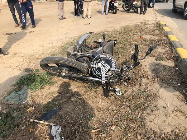 road accident in jalandhar