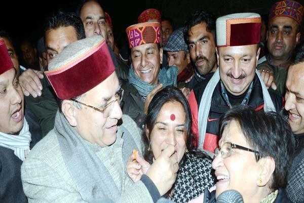 meera sharma s hattrick of victory bjp supporters celebrate