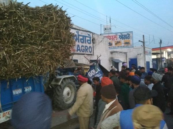 road accident in jalandhar