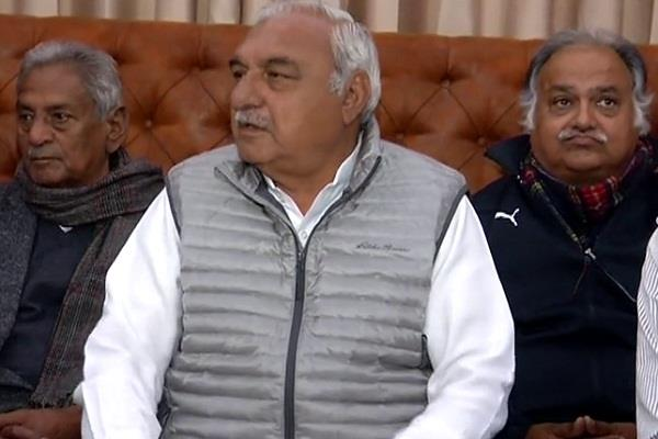 hooda said bjp candidate export from inld