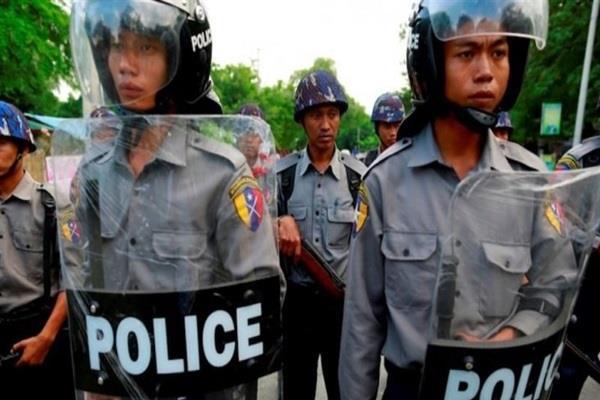 13 policemen killed in myanmar rebel attack