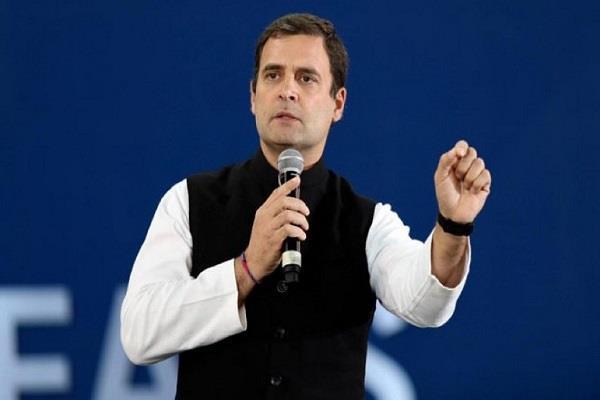 speak between sp bsp alliance rahul do not underestimate the congress in up