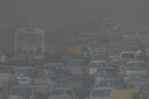 due to the decrease in rain delhi s air quality deteriorated