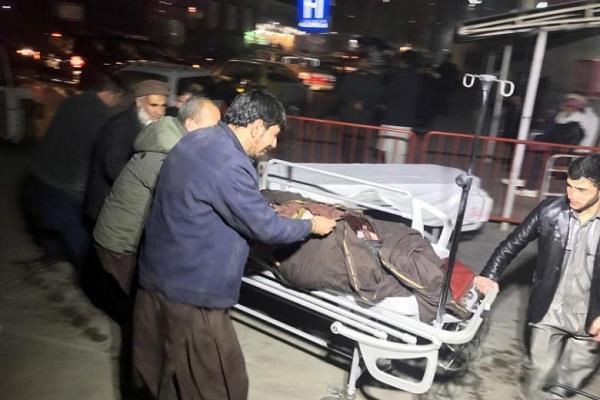 4 killed 44 injured in car explosion in kabul