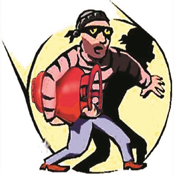 gas cylinder thief gang