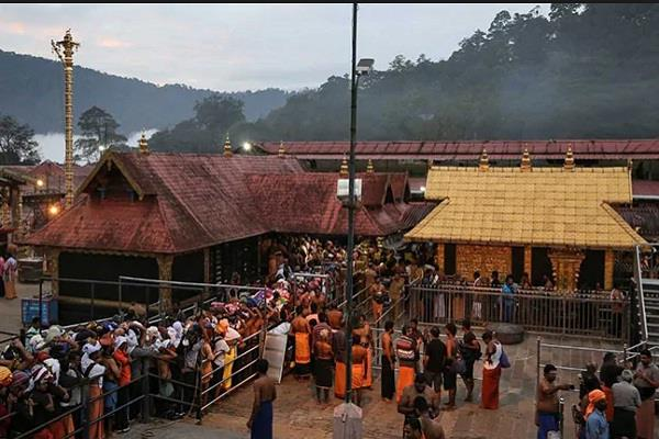 sabarimala temple will open again today