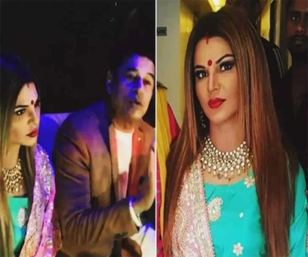 rakhi sawant reached prayagraj on the invitation of pilot baba