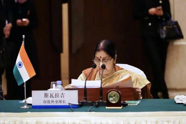 sushma swaraj raised the issue of pulwama attack in front of china