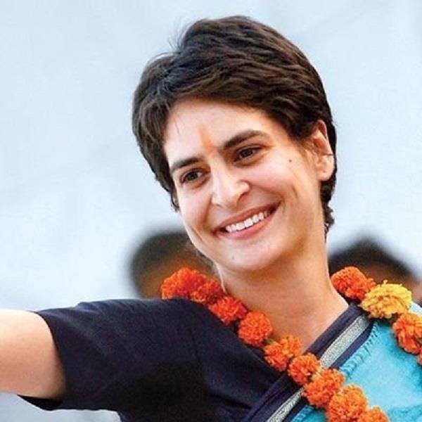 priyanka gandhi s capital arrives on congress
