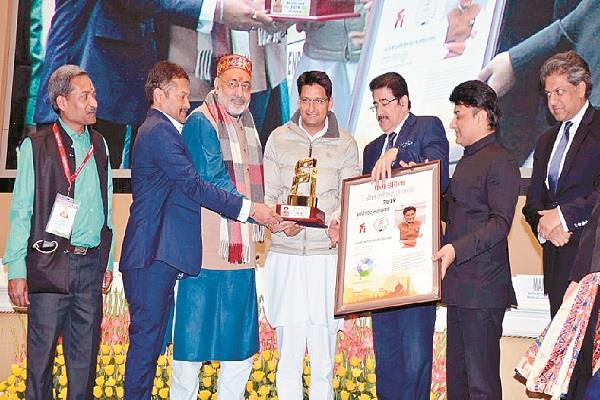 deepender hooda gets honor for mp