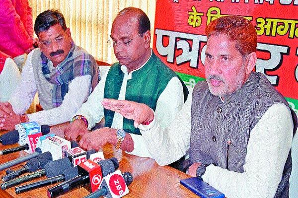 elections will be fought only on completion of term barala