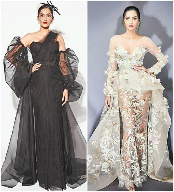 Fashion: सोनम के 10 वेस्टर्न टच गाउन, बोल्ड लुक के लिए परफेक्ट