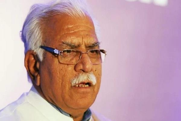 khattar writes letter to kejriwal worried over polluted water