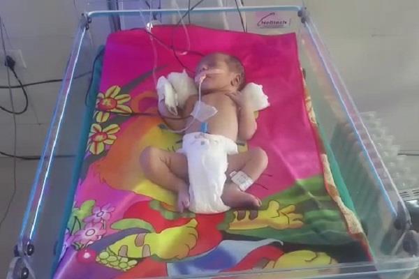 baby found on ambala chandigarh national highway