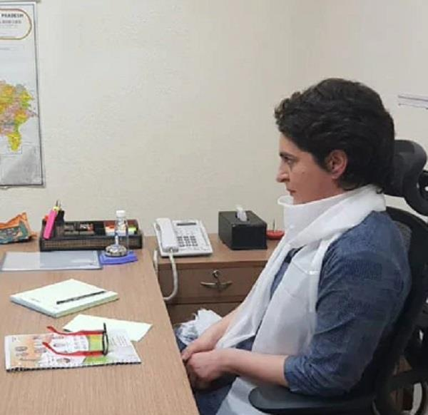 priyanka gandhi will work 13 hours every day in lucknow tour
