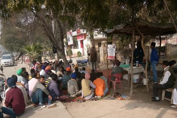all india rural mail service union indefinite hunger strike begins