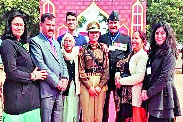 soumya bunny haryana s first lady bsf assistant commandant