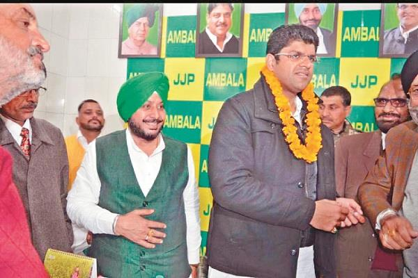 wave of change started in the country dushyant