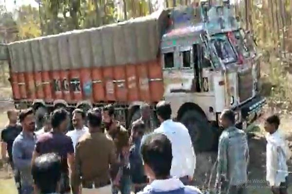 to prevent police leap from truck moving serious condition