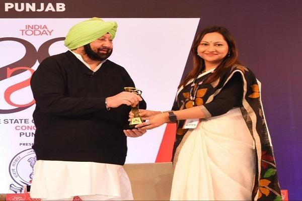 hoshiarpur gets best award