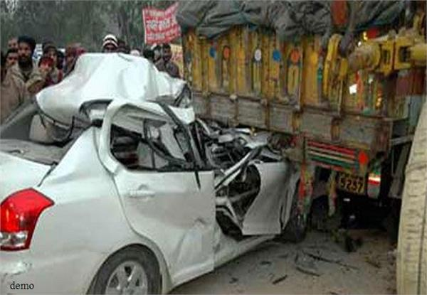 3 people killed in a road accident in banda