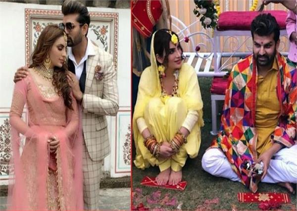 Celebs Wedding: मानसी के हुए युवराज, देखिए शादी की कुछ खूबसूरत तस्वीरें